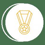 8 awards won
